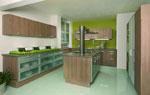 Поръчкови дизайни на кухня 495-2616