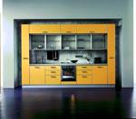 Кухня по поръчка, вградена в ниша 529-2616