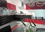 Футуристичен дизайн на кухня по проект 542-2616