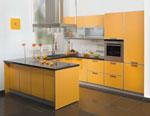 Проектиране на кухни - проект на кухня в патешко и сиво 608-2616