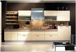 Изпълнение на кухненски проекти от светло дърво 674-2616