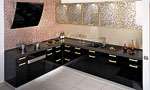 Проект за Г - образна кухня Орнаменти 676-2616