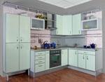 Проекти за кухни в млечно зелено 687-2616