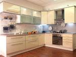 Кухни от светла дървесина - проект 693-2616