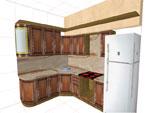 Кухня по клиентски проект 76-2616