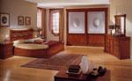 Спалня по поръчка от МДФ с голяма табла с орнаменти