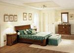 Класическа спалня по поръчка от масивно дърво