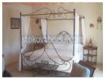 изработка на легло с балдахин от ковано желязо
