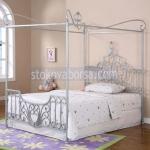 Изработване на спални с балдахин от ковано желязо