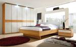 Спалня по поръчка от МДФ в карамелени нюанси 23-2618