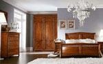 Поръчкова спалня с декоративно изображение на решетка 231-2618
