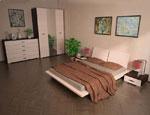 Поръчка на спалня в прасковено
