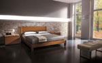 Спалня по клиентска заявка в медено кафяво и стабилни крачета