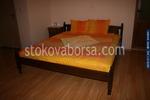 дървена спалня от масив