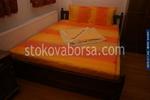 дървена спалня от масив по поръчка