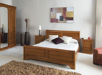 Спалня по поръчка с нощни шкафчета с нестандартна форма