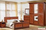 Спалня по поръчка с бароков интериор 40-2618