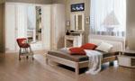 Поръчкова спалня с кръгли крачета и мебели за спалня по поръчка с кръгли колони за плотовете 415-111