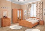 Поръчкова спалня в цвят праскова 423-2618