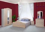 Поръчка на спалня от светло дърво ПДЧ 424-2618