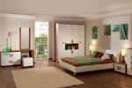Поръчкова спалня в цвят слонова кост 438-2618