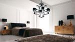 Изработка на спалня по поръчка с черна тапицирана табла от кадифе