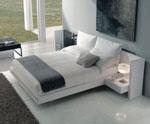 Изработка на спалня по поръчка с П-образна табла