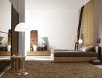 Изработка на спалня по поръчка с дървена основа и тапицирана табла