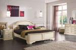 Масивна спалня по поръчка Традиция /бяла/ 489-1111