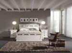 Комплект спално обзавеждане по поръчка в бял цвят