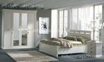 Изработка на спалня по поръчка в бяло