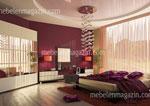 Поръчкова спалня - съчетание от модерен интериор и класически елементи