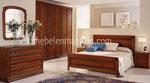 Обзавеждане за спалня с вграден гардероб по поръчка с 6 врати в ниша