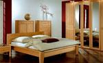 Спални по индивидуален проект - топло дърво с вишневи акценти 65-2618