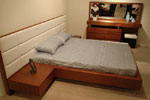 Тапицирано легло по индивидуален дизайн на клиента 750-2735