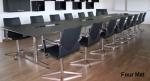 двустранна правоъгълна заседателна маса 16 места
