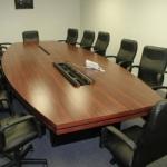 правоъгълна заседателна маса 12 места