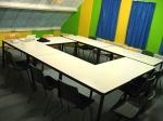 квадратна заседателна маса 12 места