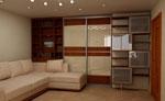 Мебели за дневна по поръчка 190-2622