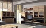 Дизайнерски мебели за хол по поръчка 196-2622