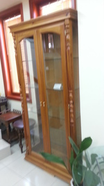 производство на стъклени дървени витрини