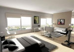 Мебели за дневна по поръчка 86-2622