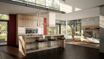 лукс Проектиране и изработка на обзавеждане за евтина кухня