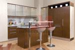 Дизайнерски модерни кухненски мебели по-поръчка