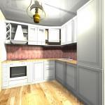 Дизайнерска евтина кухня луксозни