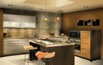Дизайнерска кухня модерна поръчки