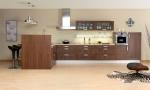 Поръчка на мебели за модерна кухня магазин