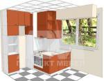 лукс Цялостно обзавеждане за модерна кухня по индивидуален проект