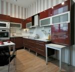 Цялостно обзавеждане за луксозна кухня по индивидуален проект луксозни
