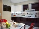 Цялостно обзавеждане за луксозна кухня по индивидуален проект